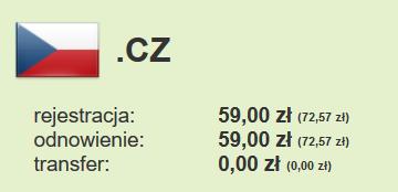 tanie domeny .cz